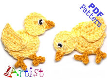 Little chick crochet pattern
