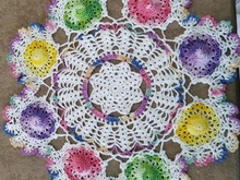 Summer Hats Doily PDF Pattern