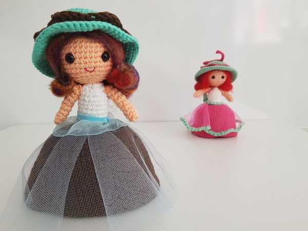 Amigurumi russian doll free pattern | 450x600