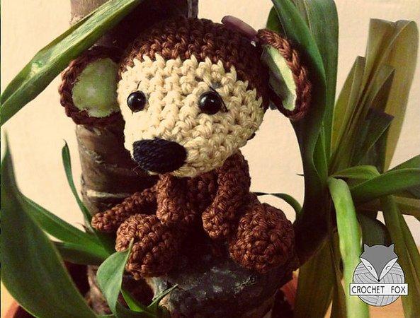 Dinegurumi - Official Shop - Little Monkeys - Crochet Pattern | 450x593
