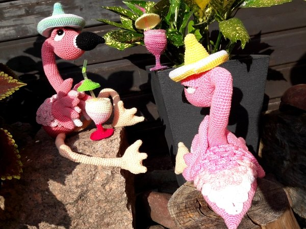 Ringo The Party Flamingo