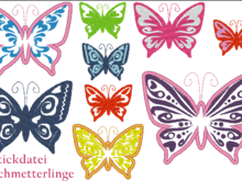 Stickdatei Schmetterling MEGA SET