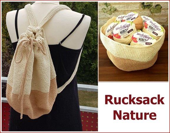 Rucksack Häkeln Aus Woolly Hugs Nobly