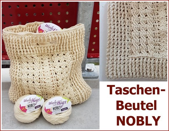 Taschenbeutel Nobly Häkeln Mit Woolly Hugs Nobly