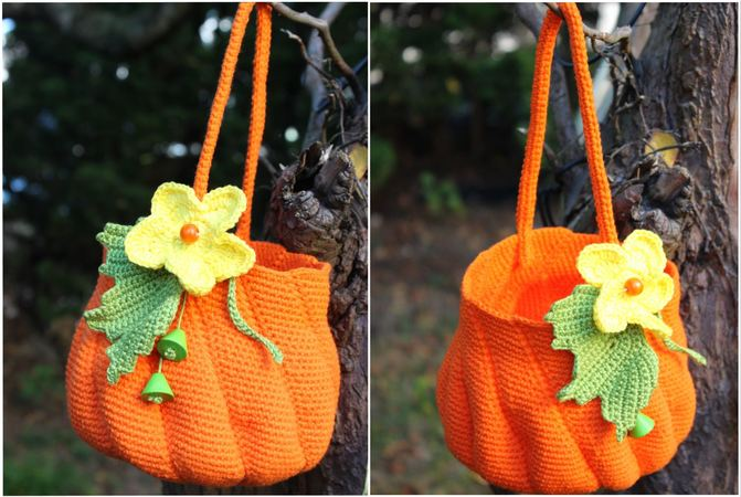 Pumpkin Purse Crochet Pattern