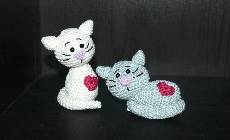 little kitten crochet pattern
