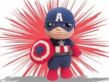 Captain Häkelanleitung Amigurumi PDF Deutsch - English