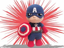 Captain Pattern Amigurumi