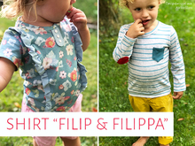 "Kinder-Shirts ""Filip & Filippa"""