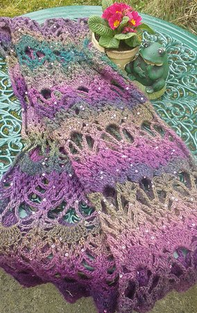 Pineapple Scarf Pattern