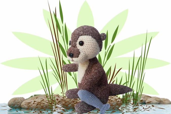 Machen Sie eine Runde Otter – Fun Knit & Crochet Patterns   Häkeln ...   450x675