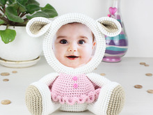 Crochet Pattern of Photo Frame LAMB