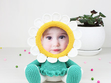 Crochet Pattern of Photo Frame Chamomile
