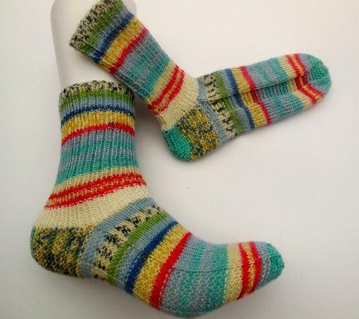 Socken Stricken Einfach Ohne Ferse