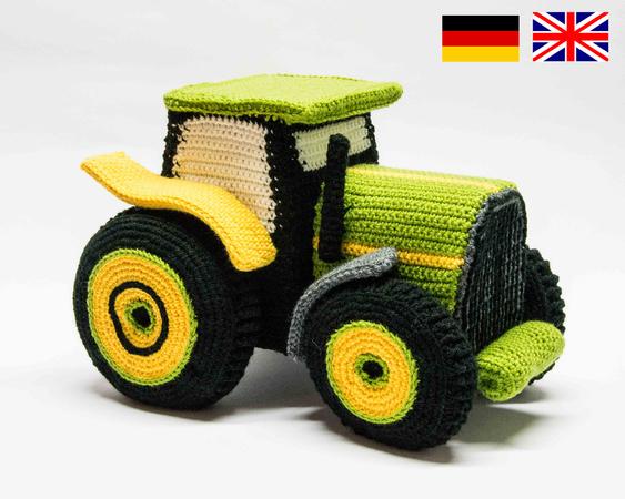 Traktor Häkeln Trecker Häkeln Diy