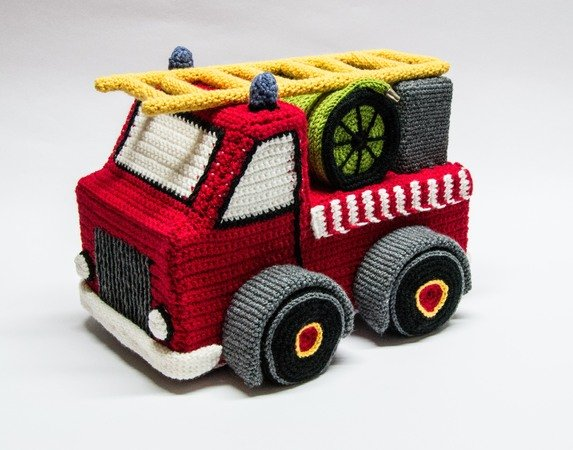 Feuerwehr Auto Häkeln Für Fortgeschrittene