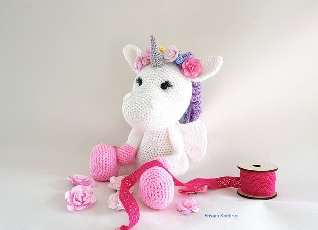Crochet pattern Unicorn