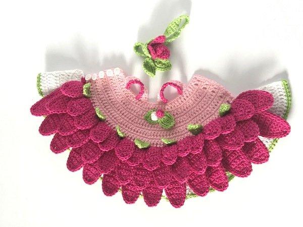 De Gerbera Outfit Vor Muis Flora Zonder Figur Haakpatroon