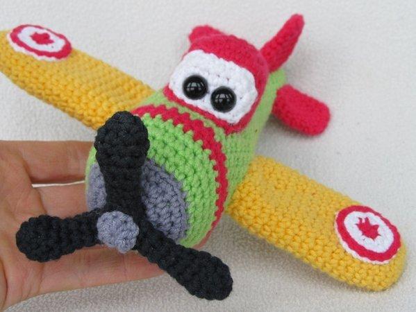 Flugzeug Häkeln Spielzeug Häkeln Diy