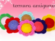 Pattern flower PDF english-deutsch- dutch ternura amigurumi