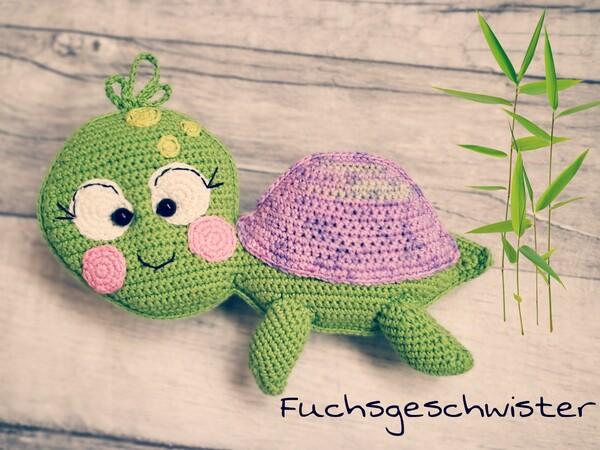 Schildkröte Häkeln Babyspielzeug Deko