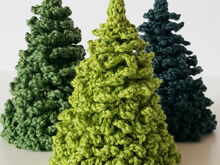 Pine Tree / Christmas Tree Crochet Pattern