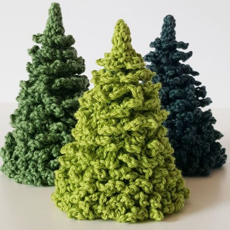 Pine Tree Christmas Tree Crochet Pattern