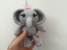 Elephant Girl - Crochet Pattern