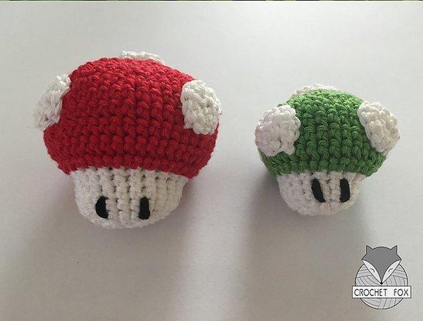Super Mario Mushrooms