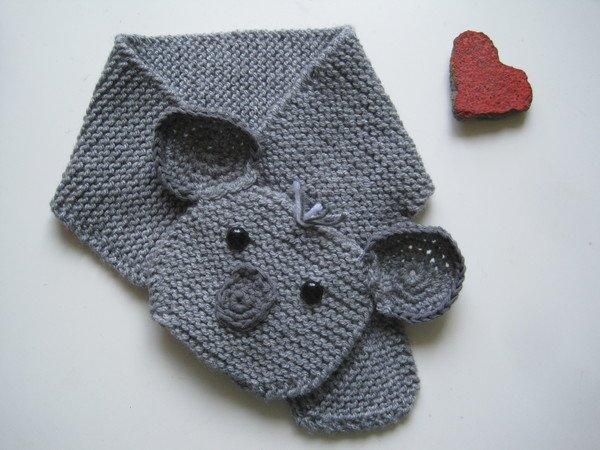 Strickanleitung Schal für Babys und Kinder mit tollem Koalamotiv für ...
