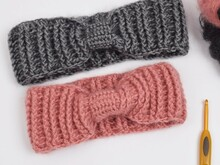 Crochet Headband - ribbed