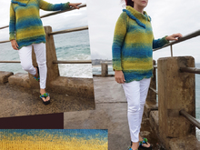 Seaside Scallops Sweater Top