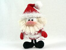 Santa Claus -- Crochet Pattern by Haekelkeks®