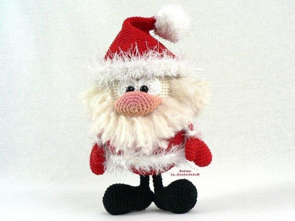 Santa Claus y CagaTió con Patrón cajitadecrochet | 450x600