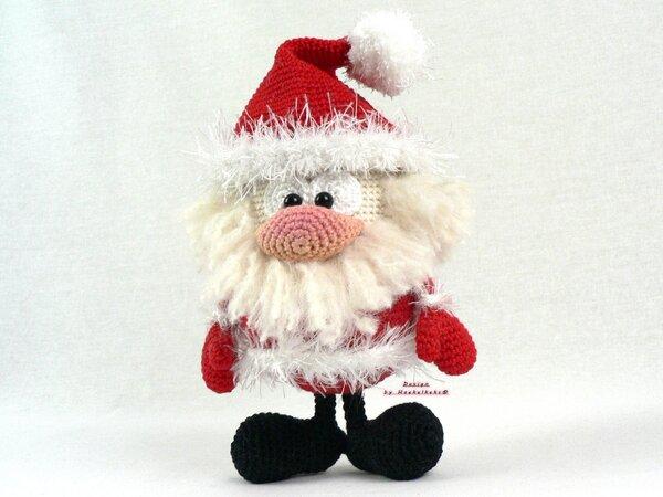 Weihnachtsmann Häkeln Deko Puppe Häkeln
