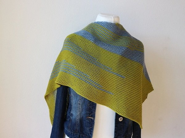 "Strickanleitung Tuch ""Different Stripes"""
