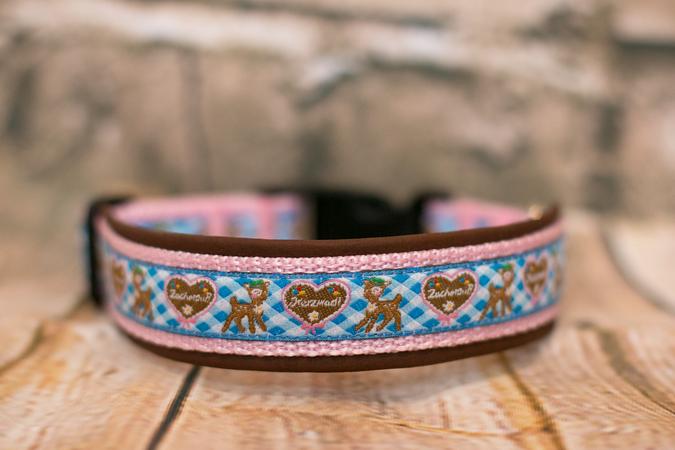Anleitung Hunde-Halsband gepolstert