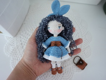Bunny girl crochet pattern