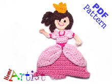 Princess crochet pattern