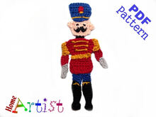 Nutcracker crochet pattern