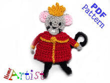 Mouse King crochet pattern