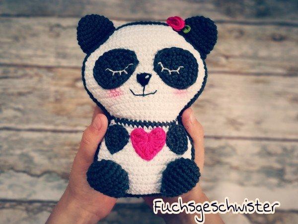 Panda Häkeln Bärchen Häkeln Tiere Häkeln