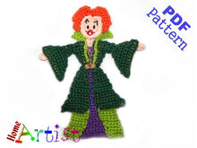 Witch Sisters 1 crochet pattern
