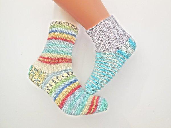 Strickmuster Socken Ohne Komplizierte Ferse