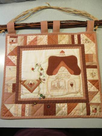 "Mini Wandquilt ""Quiltshop"""