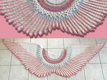 "Petra Perle's shawl ""Wings of Love"""