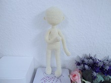 Doll body crochet pattern