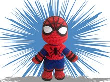 Spiderheld Häkelanleitung Amigurumi PDF Deutsch - English