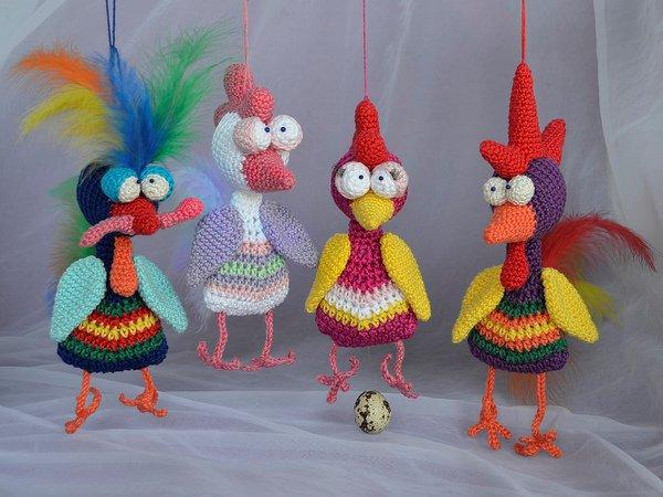 Hühner Häkeln Amigurumi Spielzeug Häkeln