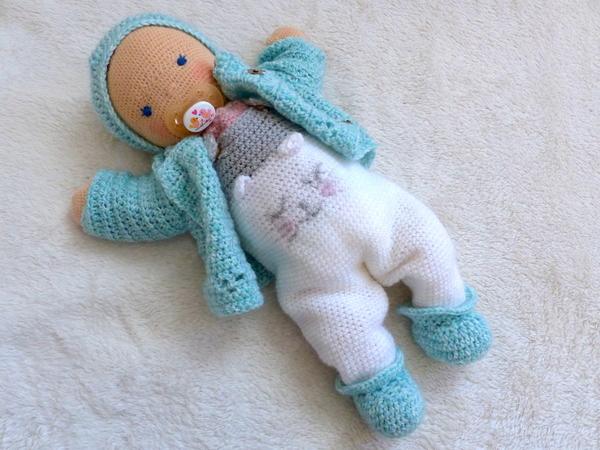 Babypuppe Häkeln Ca 35 Cm Groß Diy